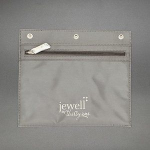 Jewell by Thirty-One Snap In Zipper Pouch NWT